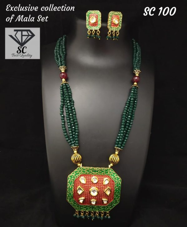 traditional beads necklace designs