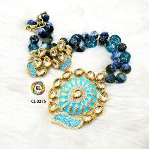 latest kundan necklace designs