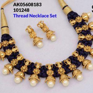 thread necklace set