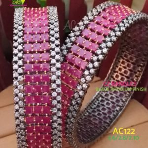 latest cz bangles designs