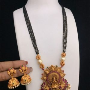 mangalsutra pendant designs in one gram gold