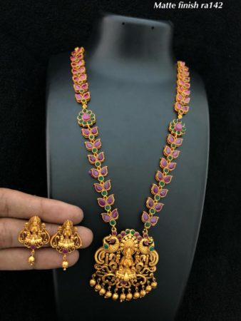 Gorgeous Gold Plated Necklace Set