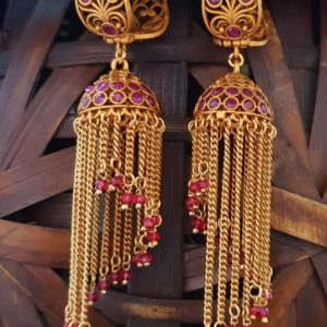 latest jhumka earrings