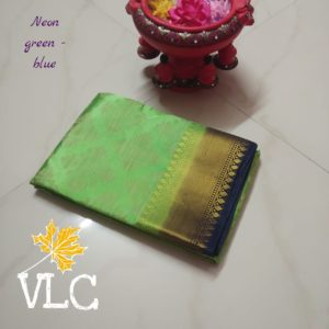 Tusser silk with weaving putta sarees