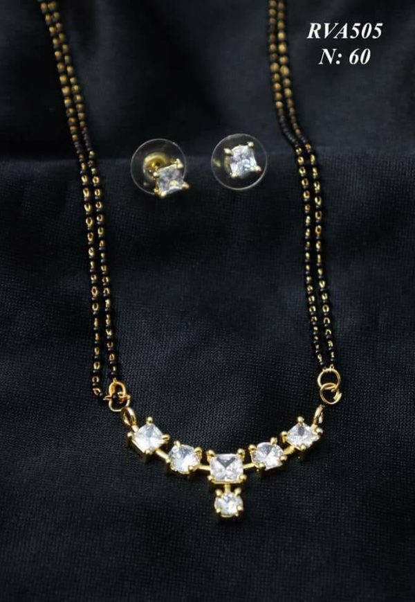 Beautiful mangalsutra pendant design