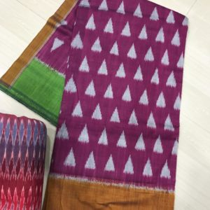 Pochampally mercerised cotton sarees