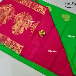 Beautiful Semi Kuppadam sarees