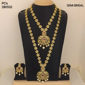 cz semi bridal set designs