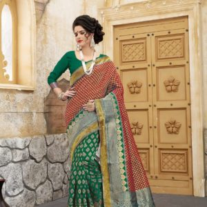 new arrival banarasi silk saree collections