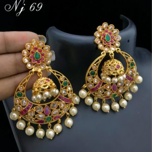 5ed3919e2f 1 Gm gold earrings or trendy earrings | Jewellery online store ...