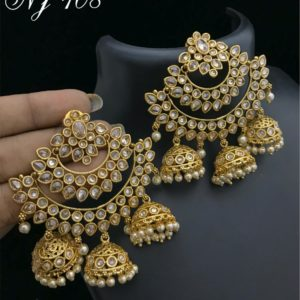 1 Gm gold earrings or trendy earrings | Jewellery online
