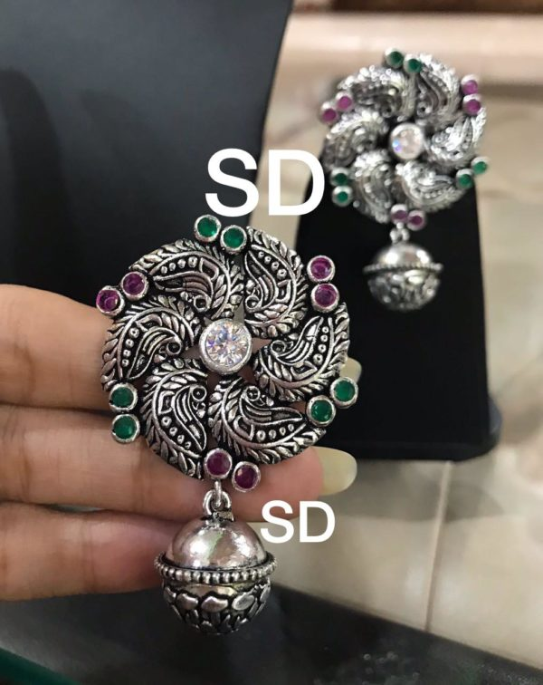 Beautiful Silver Earrings in hyderabad