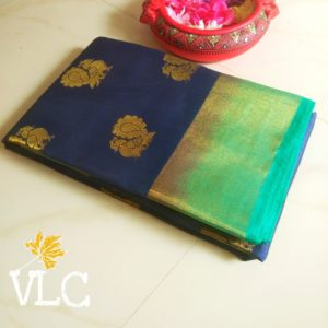Tusser silk with weaving putta in andhrapradesh
