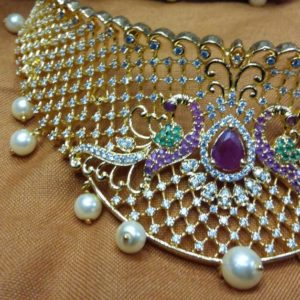 latest choker necklace designs in andhrapradesh