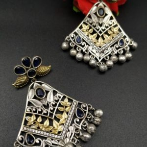 beautiful silver earrings in tamilnadu
