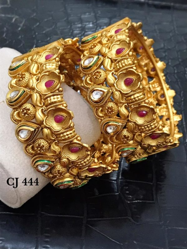 one gram gold bangles set in vizag