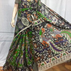 kalamkari cotton saree in andhra pradesh