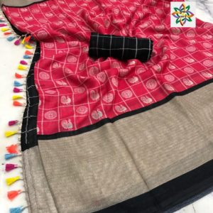 linen saree collections for best images