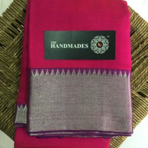 Top pure handloom mangalagiri cotton silk saree collections with price