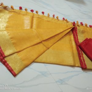 linen saree collections for wholesale price