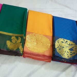 new arrival semi kanchipuram soft silk saree collections with price