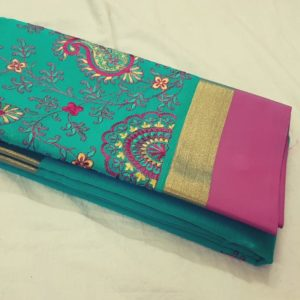 New arrival elegant soft silk cotton saree collections