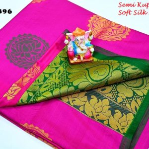 new arrival semi kuppadam saree collections for wholesale price