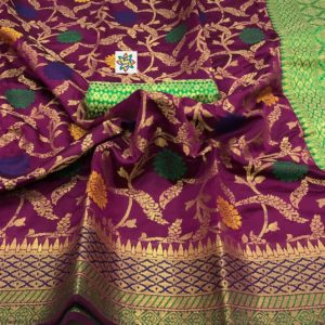 new arrival khatau silk – mix of raw silk saree collections with price